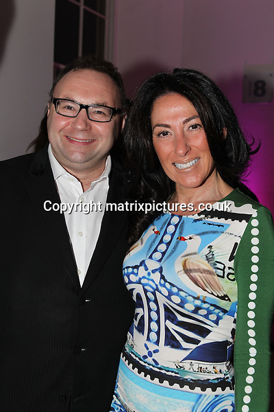 NON EXCLUSIVE PICTURE: TREVOR ADAMS / MATRIXPICTURES.CO.UK<br /> PLEASE CREDIT ALL USES<br /> <br /> WORLD RIGHTS<br /> <br /> British Entertainment Impressario Jonathan Shalit and his wife, Katrina attending the CANDY Magazine Autumn/Winter 2013 Launch Party, hosted by Nick Candy at the Saatchi Gallery in King's Road, London.<br /> <br /> OCTOBER 15th 2013<br /> <br /> REF: MTX 136759