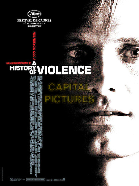 A History of Violence (2005) <br /> POSTER ART<br /> *Filmstill - Editorial Use Only*<br /> CAP/KFS<br /> Image supplied by Capital Pictures