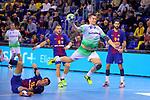 League ASOBAL 2017-2018 - Game: 14.<br /> FC Barcelona Lassa vs Helvetia Anaitasuna: 38-26.<br /> Antonio Bazan.