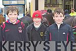 Sean Prenderville Castleisland, Tommy Dennehy Currow and Tadgh Walsh Cordal at the Castleisland Horse Fair on Monday