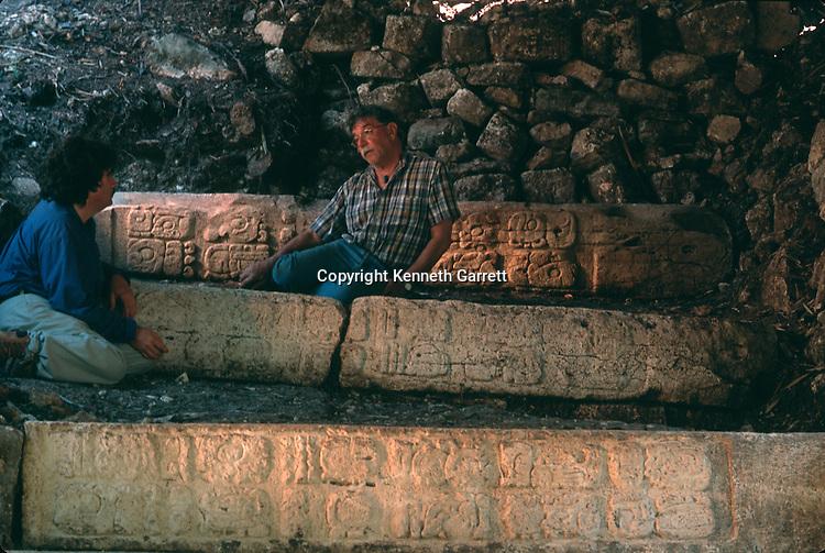 Maya; Guatemala; Ruta Maya, Dos Pilas. Arthur Demarest, Federico Fashen