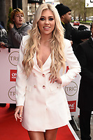Paige Turley<br /> arriving for theTRIC Awards 2020 at the Grosvenor House Hotel, London.<br /> <br /> ©Ash Knotek  D3561 10/03/2020