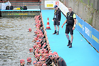 20180617 - ANTWERP , BELGIUM : pictured during The Port Of Antwerp Triathlon World Cup Man and Women , a ITU Sprint Triathlon in Antwerp , Sunday 17 th June 2018 , PHOTO SPORTPIX.BE | STIJN AUDOOREN
