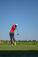 Jennifer Song (USA) watches her tee shot on 9 during round 1 of  the Volunteers of America LPGA Texas Classic, at the Old American Golf Club in The Colony, Texas, USA. 5/5/2018.<br /> Picture: Golffile | Ken Murray<br /> <br /> <br /> All photo usage must carry mandatory copyright credit (&copy; Golffile | Ken Murray)