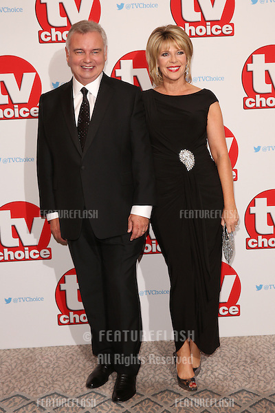 Eamonn Holmes &amp; Ruth Langsford at The TVChoice Awards 2016 at the Dorchester Hotel, London. <br /> September 5, 2016  London, UK<br /> Picture: James Smith / Featureflash