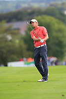 Marcel Siem (GER) on the 3rd fairway during Round 4 of Made in Denmark at Himmerland Golf &amp; Spa Resort, Farso, Denmark. 27/08/2017<br /> Picture: Golffile | Thos Caffrey<br /> <br /> All photo usage must carry mandatory copyright credit     (&copy; Golffile | Thos Caffrey)