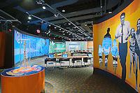Interactive exhibit, Muhammad Ali Center, downtown Louisville, Kentucky