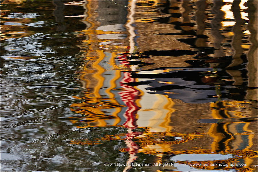 Reflections, Menemsha, Martha's Vineyard