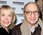 Elaine Joyce & Neil Simon attending the Broadway Opening Night Performance of 'The Mystery of Edwin Drood' at Studio 54 in New York City on 11/13/2012
