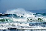 Big waves on the Coast of California