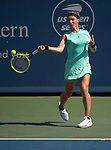 August  17, 2019:  Svetlana Kuznetsova (RUS) defeated Ashleigh Barty (AUS) 6-2, 6-4, at the Western & Southern Open being played at Lindner Family Tennis Center in Mason, Ohio. ©Leslie Billman/Tennisclix/CSM