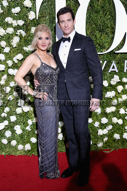 NEW YORK, NY - JUNE 11:  Orfeh and Andy Karl attend the 71st Annual Tony Awards at Radio City Music Hall on June 11, 2017 in New York City.  (Photo by Walter McBride/WireImage)