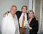 """Roy Steinberg (director of theater and dir. and producer of Guiding Light, All My Children, and was """"Dr. Longo"""" on Another World poses with Guiding Light and All My Children Grant Aleksander stars in Mary, Mary and poses with wife Sherry Ramsey (As The World Turns) on opening night June 18, 2015 at Cape May Stage (Robert Shackleton Playhouse) in Cape May, New Jersey.  (Photos by Sue Coflin/Max Photos)"""