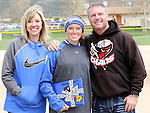 Courtnee Higgs at the Sophomore Day celebration after the first game of the Western Nevada College softball doubleheader on Saturday, April 30, 2016 at Pete Livermore Sports Complex. Photo by Shannon Litz/Nevada Photo Source