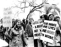 March for reproductive rights Boston MA 3.31.79