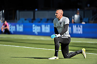 San Jose, CA - Saturday June 17, 2017: David Bingham prior to a Major League Soccer (MLS) match between the San Jose Earthquakes and the Sporting Kansas City at Avaya Stadium.