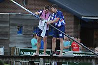 FIERLJEPPEN: Burgum: 03-08-2015, Oane en Ysbrand Galama, ©foto Martin de Jong