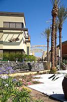 Outdoor Plaza at the Anaheim Garden Walk