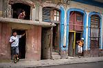 Havana, Cuba: Street scene, Havana Vieja