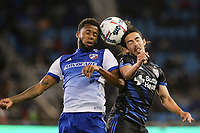 San Jose, CA - Friday April 14, 2017: Jahmir Hyka  during a Major League Soccer (MLS) match between the San Jose Earthquakes and FC Dallas at Avaya Stadium.