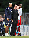 Stevenage manager Graham Westley sends on early substitutes Luke Freeman and Chuks Aneke in the 37th minute. - Wycombe Wanderers v Stevenage - Adams Park, High Wycombe - 31st December 2011  .© Kevin Coleman 2011
