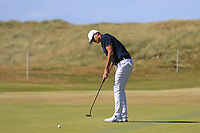 Christiaan Bezuidenhout (RSA) on the 17th during Round 1 of the Dubai Duty Free Irish Open at Ballyliffin Golf Club, Donegal on Thursday 5th July 2018.<br /> Picture:  Thos Caffrey / Golffile