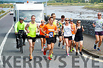 Shane Finn on Friday last who received a heroes welcome in Blennerville, Tralee, during his 23rd marathon.