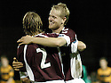 20/09/2006        Copyright Pic: James Stewart.File Name : sct_jspa11_alloa_v_hearts.JUHO MAKELA CELEBRATES AFTER HE SCORES HEARTS SECOND......Payments to :.James Stewart Photo Agency 19 Carronlea Drive, Falkirk. FK2 8DN      Vat Reg No. 607 6932 25.Office     : +44 (0)1324 570906     .Mobile   : +44 (0)7721 416997.Fax         : +44 (0)1324 570906.E-mail  :  jim@jspa.co.uk.If you require further information then contact Jim Stewart on any of the numbers above.........