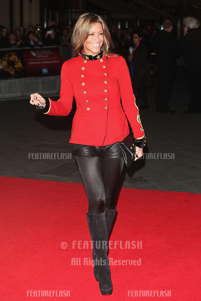 Nicole Appleton arriving the Premiere of 'Crossfire Hurricane' during the 56th BFI London Film Festival at Odeon Leicester Square, London. 18/10/2012 Picture by: Alexandra Glen / Featureflash
