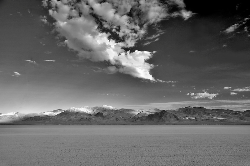 Alkali flats of Black Rock Desert National Conservation Area. Nevada