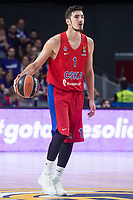 CSKA Moscu Nando de Colo during Turkish Airlines Euroleague match between Real Madrid and CSKA Moscu at Wizink Center in Madrid, Spain. October 19, 2017. (ALTERPHOTOS/Borja B.Hojas) /NortePhoto.com