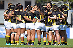 NELSON, NEW ZEALAND September 23: Tasman Mako Woman v Wellington, Tarfalgar Park, Nelson, New Zealand, September 23, 2018 (Photos by: Barry Whitnall/Shuttersport Ltd
