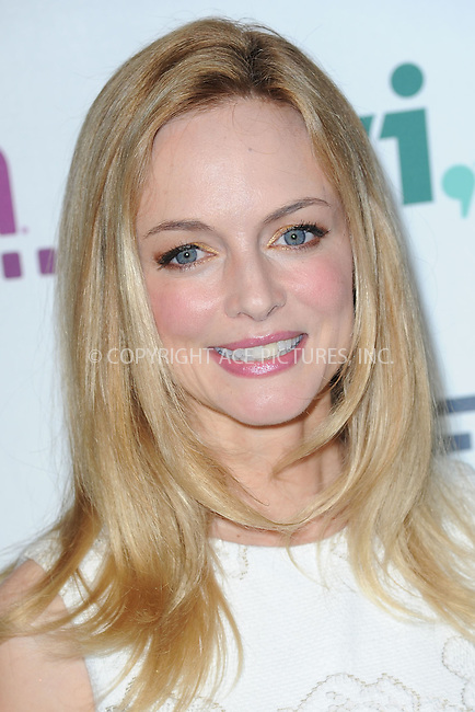 WWW.ACEPIXS.COM<br /> May 8, 2014 New York City<br /> <br /> Heather Graham attending the A+E Networks 2014 Upfronts at the Park Avenue Armory on May 8, 2014 in New York City.<br /> <br /> Please byline: Kristin Callahan<br /> <br /> ACEPIXS.COM<br /> <br /> Tel: (212) 243 8787 or (646) 769 0430<br /> e-mail: info@acepixs.com<br /> web: http://www.acepixs.com