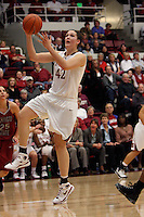 STANFORD, CA - JANUARY 10:  Sarah Boothe of the Stanford Cardinal during Stanford's 102-53 win over Washington State University on January 10, 2009 at Maples Pavilion in Stanford, California.
