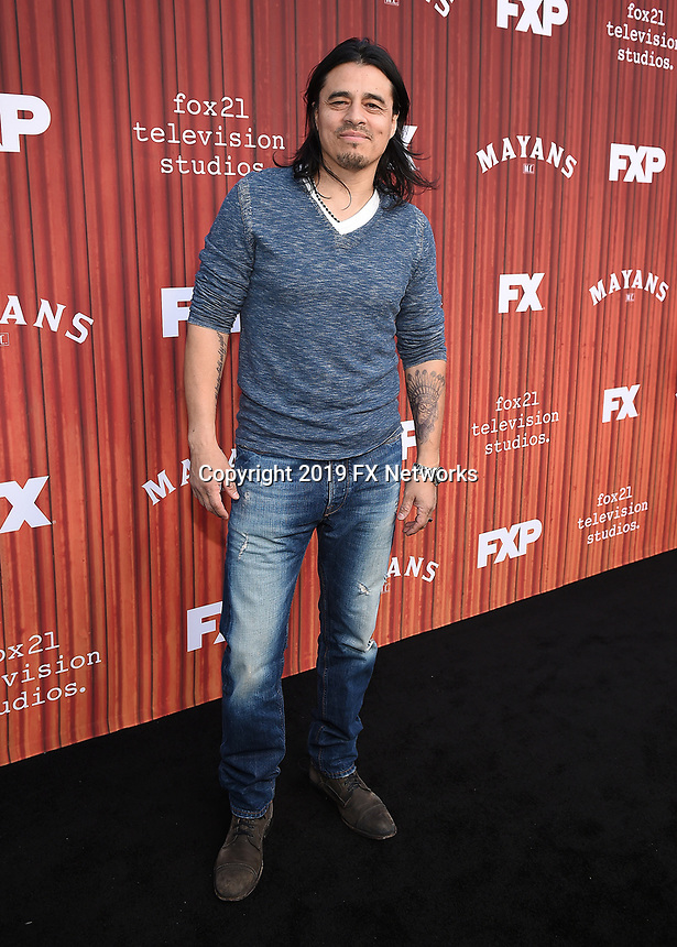 "HOLLYWOOD - MAY 29: Antonio Jaramillo attends the FYC event for FX's ""Mayans M.C."" at Neuehouse Hollywood on May 29, 2019 in Hollywood, California. (Photo by Frank Micelotta/FX/PictureGroup)"
