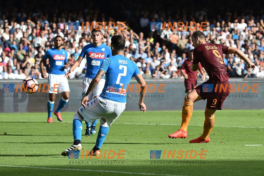 Gol Edin Dzeko roma 0-1 Goal celebration <br /> Napoli 15-10-2016  Stadio San Paolo <br /> Football Calcio Campionato Serie A Napoli - AS Roma <br /> Foto Andrea Staccioli / Insidefoto