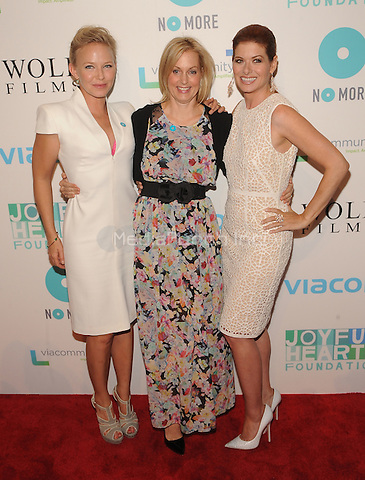 New York,NY-May 29: Kelli Giddish,Ali Wentworth and Debra Messing Attends Mariska Hargitayís Joyful Heart Foundation 10th anniversary  in New York City on May 29, 2014. Credit: John Palmer/MediaPunch