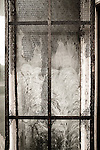 Derelict window in West Wales, Swansea