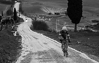 1 left behind<br /> <br /> 12th Strade Bianche 2018<br /> Siena &gt; Siena: 184km (ITALY)