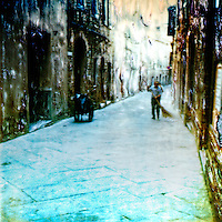 In a Tuscan village the streets are always clean. Tuscans are proud of their heritage.<br />
