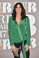 Christine Bleakley<br /> The Brit Awards at the o2 Arena, Greenwich, London, England on February 22, 2017.<br /> CAP/PL<br /> &copy;Phil Loftus/Capital Pictures /MediaPunch ***NORTH AND SOUTH AMERICAS ONLY***