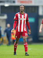 Brentford Romaine Sawyers during the Sky Bet Championship match between Millwall and Brentford at The Den, London, England on 10 March 2018. Photo by Andrew Aleksiejczuk / PRiME Media Images.