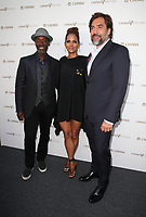 "LOS ANGELES, CA July 13- Don Cheadle, Halle Berry, Javier Bardem, At Chivas Regal ""The Final Pitch"" at The LADC Studios, California on July 13, 2017. Credit: Faye Sadou/MediaPunch"
