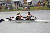 Race: 64  Event: W J152x   Final A <br /> <br /> Junior Inter Regional Regatta 2018<br /> <br /> To purchase this photo, or to see pricing information for Prints and Downloads, click the blue 'Add to Cart' button at the top-right of the page.