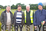 At the Races - Race goers l-r; Michael McCarthy, Mattie Quirke, Jimmy Curran & Hugh Dineen seen here at the Cahersiveen Races on Sunday.