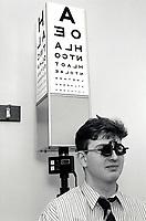 Eye test, Nottingham, 1991