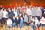 Cup hurray: Listowel children surround Munster's Ray Gadsden and the Heineken Cup at the Listowel Community Centre last Thursday.    Copyright Kerry's Eye 2008