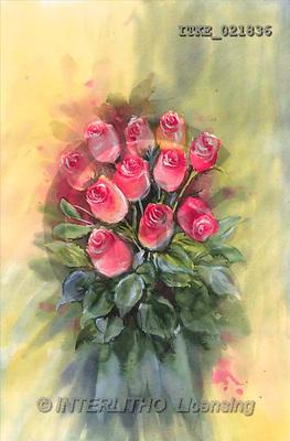 Isabella, FLOWERS, paintings(ITKE021836,#F#) Blumen, flores, illustrations, pinturas ,everyday