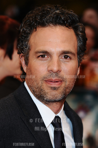 "Mark Ruffalo arrives for the ""Avengers Assemble"" premiere at the Vue cinema Westfield, London. 19/04/2012 Picture by: Steve Vas / Featureflash"