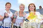 Owen to finish.GET IN SHAPE: Announcing details of aerobics classes and other events at Knockanure Community Centre, l-r: Nora Winter, Maggie Large, Trish ??.